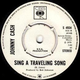 Sing A Traveling Song (CBS 4934) promo