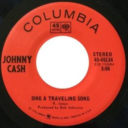 Sing A Traveling Song (Columbia 4S-45134) variant 2