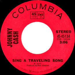 Sing A Travelling Song (Columbia 4S-45134) variant 3