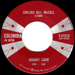 Smiling Bill McCall (Columbia 4-41618) canada