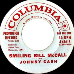 Smiling Bill McCall (Columbia 4-41618) promo variant 2