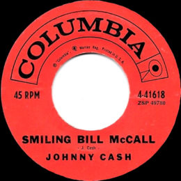 Smiling Bill McCall (Columbia 4-41618) variant 3