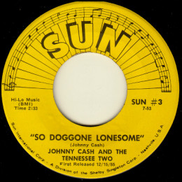 So Doggone Lonesome (Sun International 3)