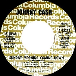 Sunday Morning Coming Down - mono promo.variant 3