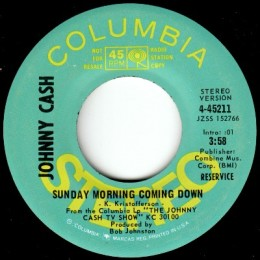 Sunday Morning Coming Down - stereo promo.variant 1