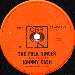 The Folk Singer (CBS BA 461191