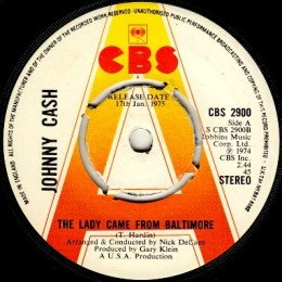 The Lady Came From Baltimore (CBS 2900) stereo promo