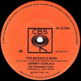 The Miracle Man (CBS BG 221900)
