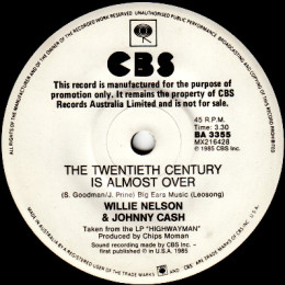 The Twentieth Century Is Almost Over (CBS BA 3355) promo