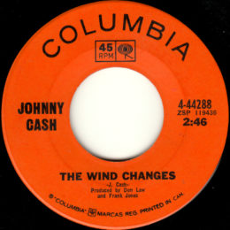 The Wind Changes (Columbia 4-44288) canada
