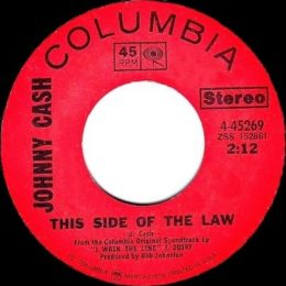 This Side Of The Law (Columbia 4-45269) variant 2