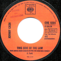 This Side Of The Law (CBS 5364) Italy