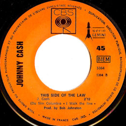 This Side Of The Law (CBS 5364) france