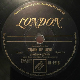Train Of Love 78 rpm