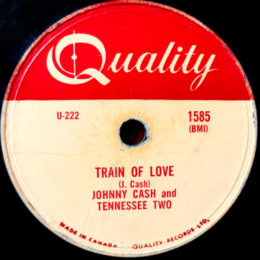 Train Of Love (Quality 1585) 78rpm