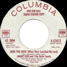Were You There (Columbia 4-42615) promo