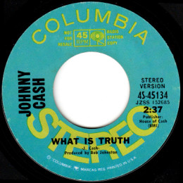 What Is Truth (Columbia 4-45134) p stereo