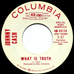 What Is Truth (Columbia 4-45134m) SRR