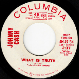 What Is Truth (Columbia 4-45134) p mono