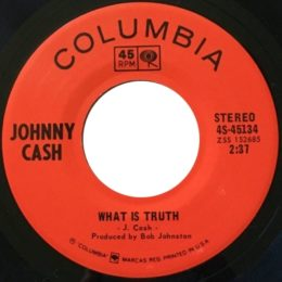 What Is Truth (Columbia 4S-45134) variant 2