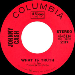 What Is Truth (Columbia 4S-45134) variant 3