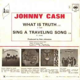 What Is Truth (rear sleeve)
