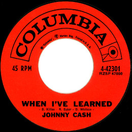 When I've Learned (Columbia 4-42301)