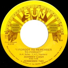 I Forgot To Remember To Forget (Sun International 37) - variant 2