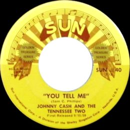 You Tell Me (Sun International 40) variant 2