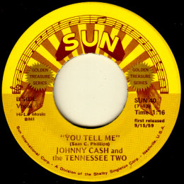 You Tell Me (Sun International 40) variant 1