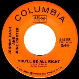 You'll Be All Right (Columbia 4-44158)