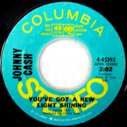 You've Got A New Light Shining (Columbia 4-45393) promo variant 1