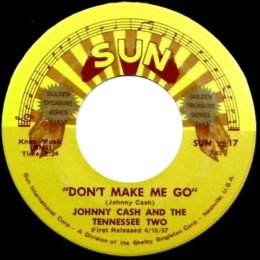 Don't Make Me Go (Sun International 17) variant 2