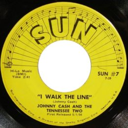 I walk The Line  (Sun International 7) variant 2