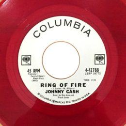 Ring Of Fire (Red vinyl promo)