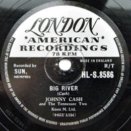 Big River (London HLS 8586). 78 rpm