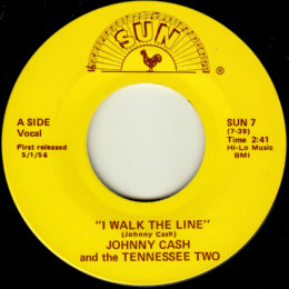 I Walk The Line (Sun International 7) variant 3