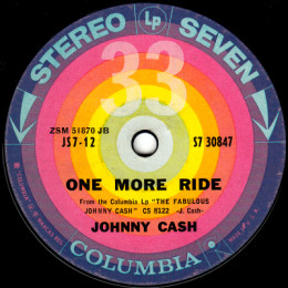 One More Ride (Columbia S7 30847)