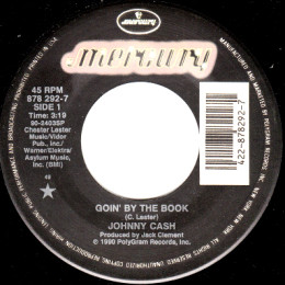 Goin' By The Book (Mercury 878 292-7)