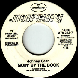 Goin' By The Book (Mercury 878 292-7) promo
