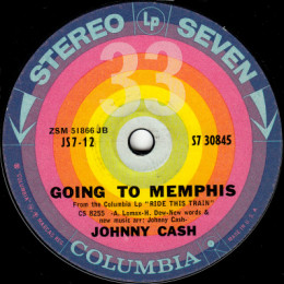 Going To Memphis (Columbia S7 30845)