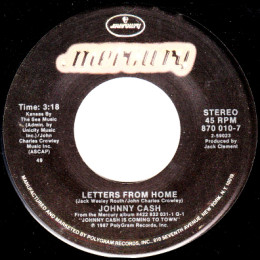 Letters From Home (Mercury 870 010-7)