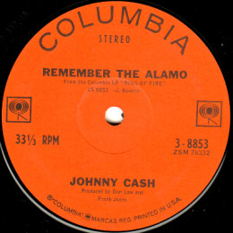 Remember The Alamo (Columbia 3-8853)