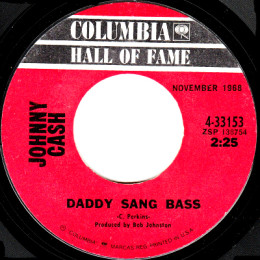 Daddy Sang Bass I Johnny Cash