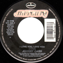 I Love You, Love You (Mercury 875 626-7)