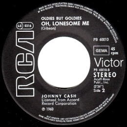 Oh Lonesome Me (RCA PB 60010)
