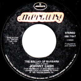 The Ballad Of Barbara (Mercury 888 719 7)