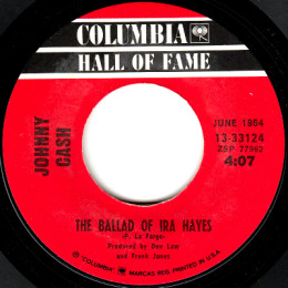 The Ballad Of Ira Hayes (Columbia HOF 13-33124)