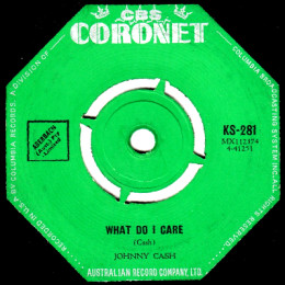 What Do I Care (Coronet KS-281)