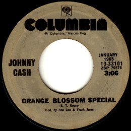 Orange Blossom Special (Columbia 13-33101)